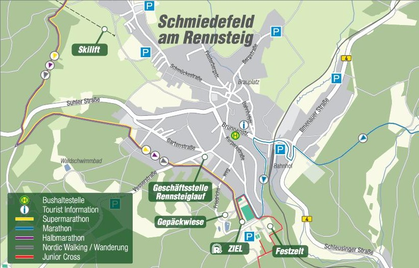 Schmiedefeld-Übersichtsplan