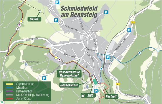 Bild: Karte Schmiedefeld
