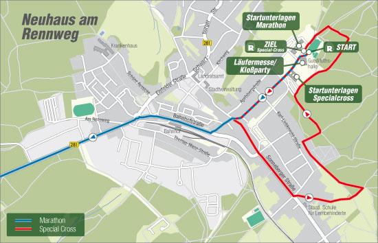 Bild: Karte Neuhaus