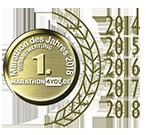 Link: Zum fünften Mal in Folge: Beliebtester Marathon