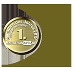 Zum sechsten Mal in Folge: Beliebtester Marathon des Jahres